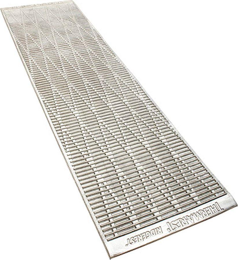 Коврик туристический Therm-a-Rest RidgeRest SOLite Large, 05208, серебристый, 196 х 53 см
