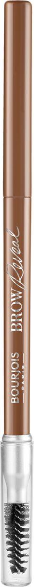 Карандаш для бровей Bourjois Brow Reveal, тон 002, светло-коричневый недорого
