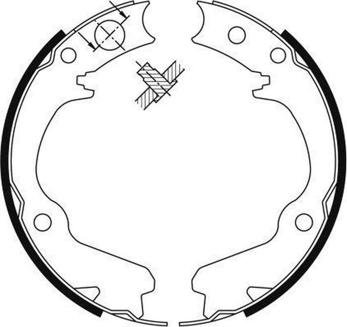 Барабанные колодки ABS Legacy/Outback/Forester/Impreza (00-14), 9116 стоимость