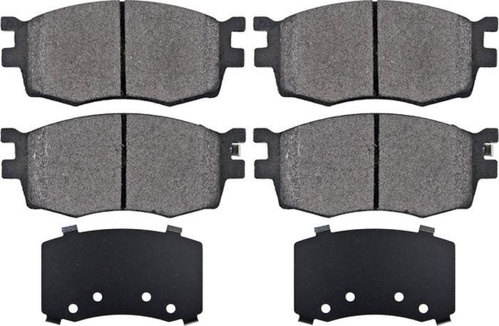 Тормозные колодки дисковые ABS i20/Verna/Accent/Rio (05-14), 37520 ковры seintex kia rio 5 hyundai verna 6