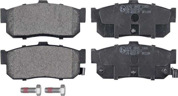 Тормозные колодки ABS Almera/Cefiro/Maxima/Primera/QX/100NX/Sunny/G Series (90-06), 36742 все цены