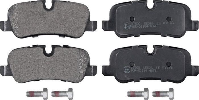 Тормозные колодки дисковые задние ABS Discovery/Range Rover (02-19), 37500 abs 1 75 3d 395m