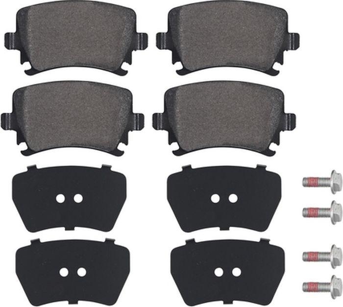 Тормозные колодки ABS Octavia/Yeti/Superb/Tiguan/Scirocco/CC/Golf/Sharan/Caddy/Eos/Passat/Touran/Jetta, 37411 цена
