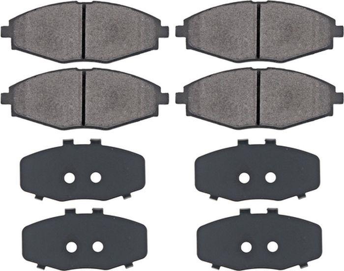 Тормозные колодки ABS Spark/Matiz/Matiz/Sens/Lanos/Assol/Matiz (97-19), 37139 цена