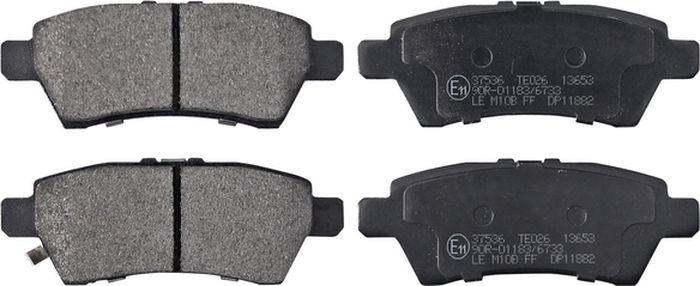 Тормозные колодки ABS Pathfinder (05-14), 37536 abs 1 75 3d 395m