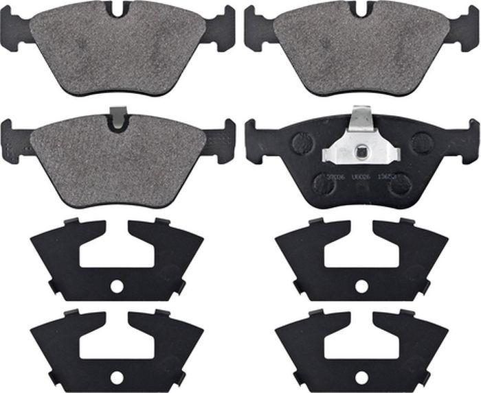 Тормозные колодки дисковые ABS 5 Series (E39) (95-04), 37036 abs 1 75 3d 395m