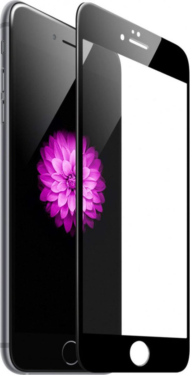 Защитное стекло BoraSco by Vespa 3D 3D для Apple iPhone 6/6S, черный защитное стекло 3d borasco 19775 для iphone 6 iphone 6s черная рамка