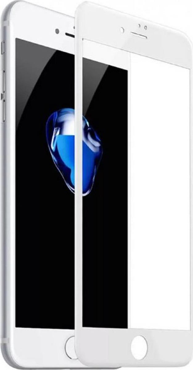 Защитное стекло BoraSco by Vespa 3D 3D для Apple iPhone 6/6S, белый защитное стекло 3d borasco 19775 для iphone 6 iphone 6s черная рамка
