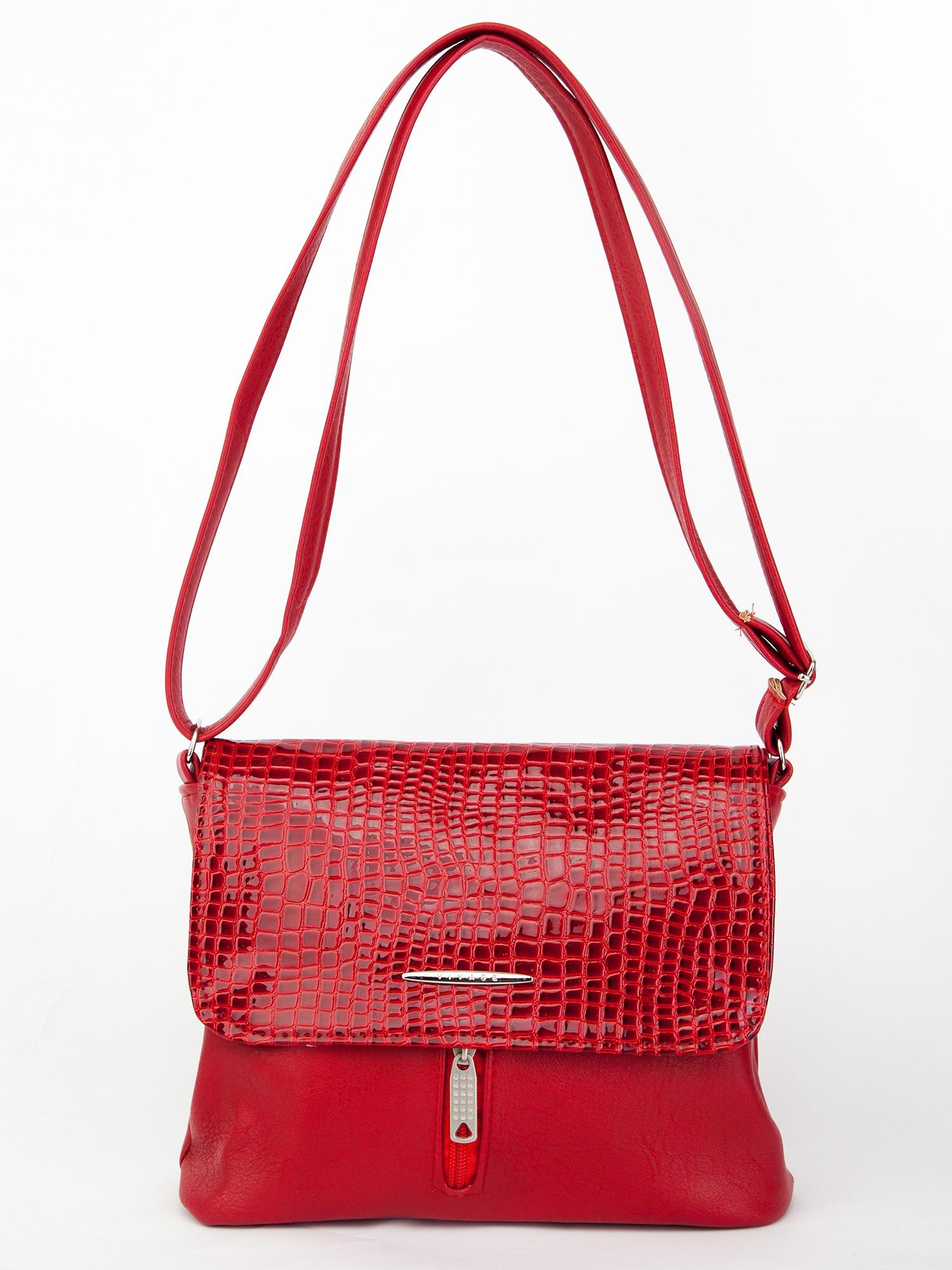 Сумка Мастер Дизайн 210-RED-lac/, красный ключница мастер дизайн 002 red lac 002 red lac красный