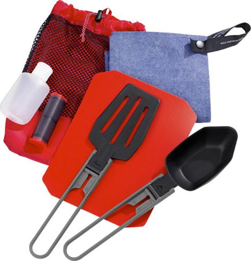 Набор походной посуды MSR Ultralight Kitchen Set, 03140, красный