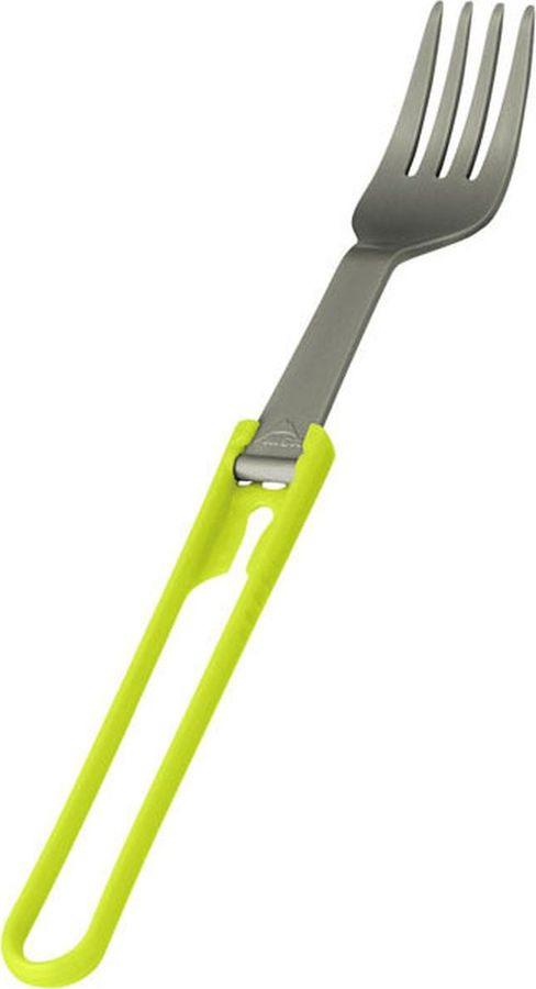 Ложка походная MSR Folding Fork, 06590, зеленый