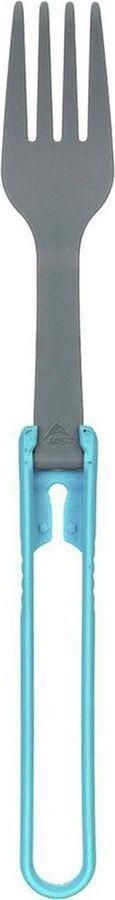 Ложка походная MSR Folding Fork, 06918, синий