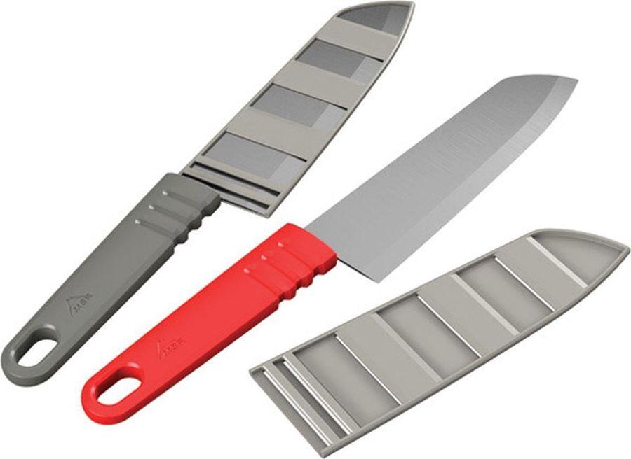 Нож туристический MSR Alpine Chef's Knife, 06924, красный
