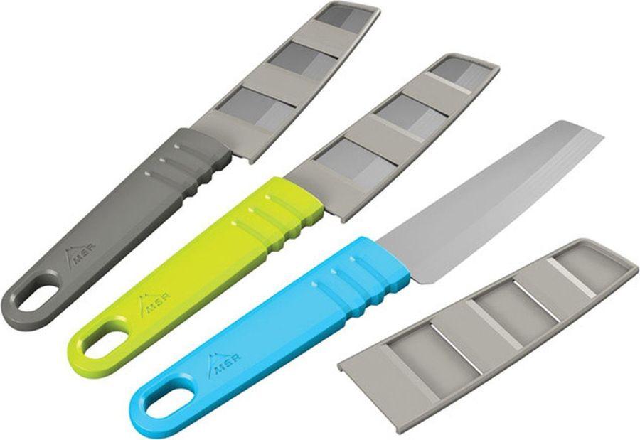 Нож туристический MSR Alpine Kitchen Knife, 07090, зеленый