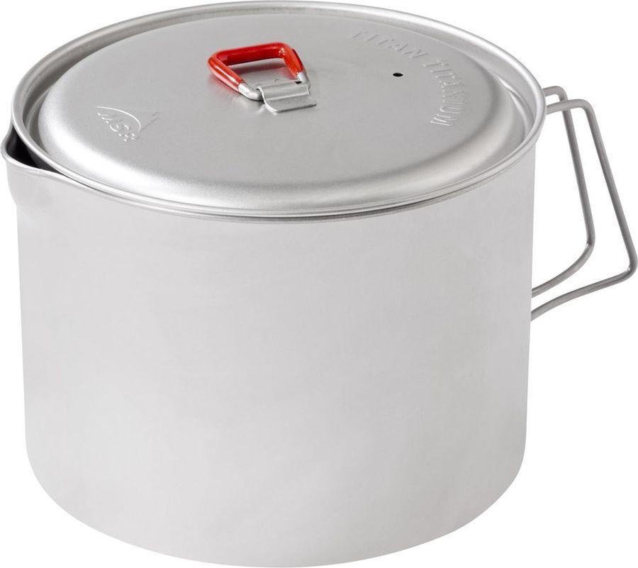 Чайник походный MSR Big Titan Kettle, 09529, серебристый цена в Москве и Питере
