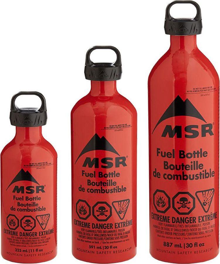 Емкость для жидкого топлива MSR 30oz Fuel Bottle, CRP Cap, 11832, красный, 887 мл