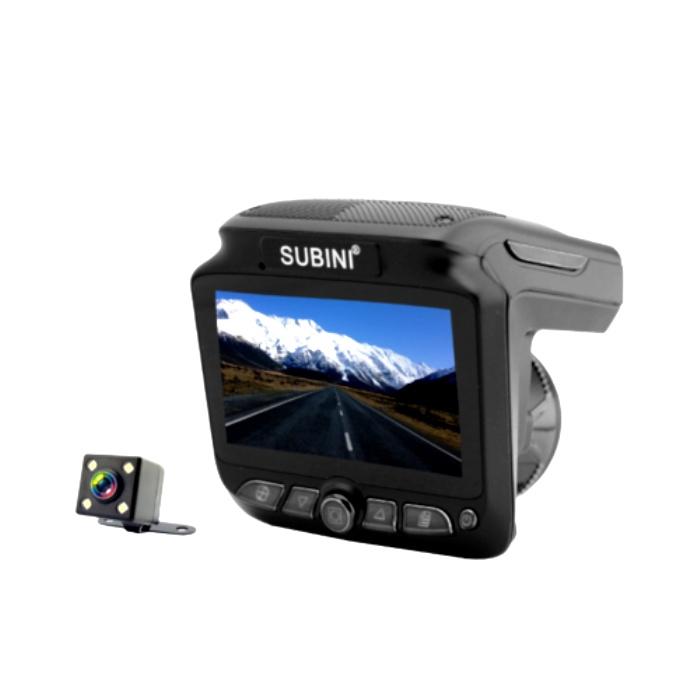 Видеорегистратор с радар-детектором Subini XT-5, черный все цены