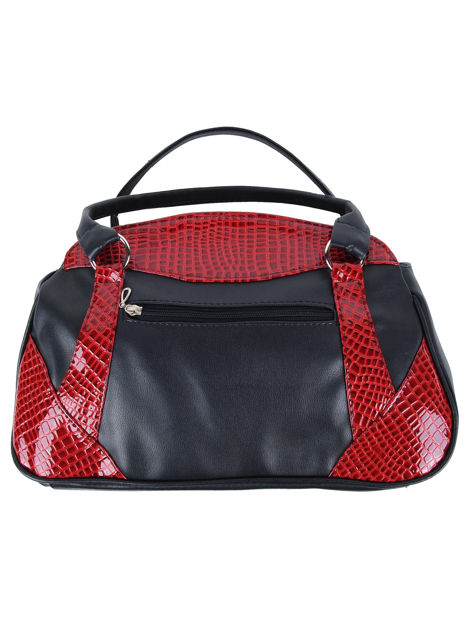 Сумка Мастер Дизайн 69 BLK red lac, черный ключница мастер дизайн 002 red lac 002 red lac красный