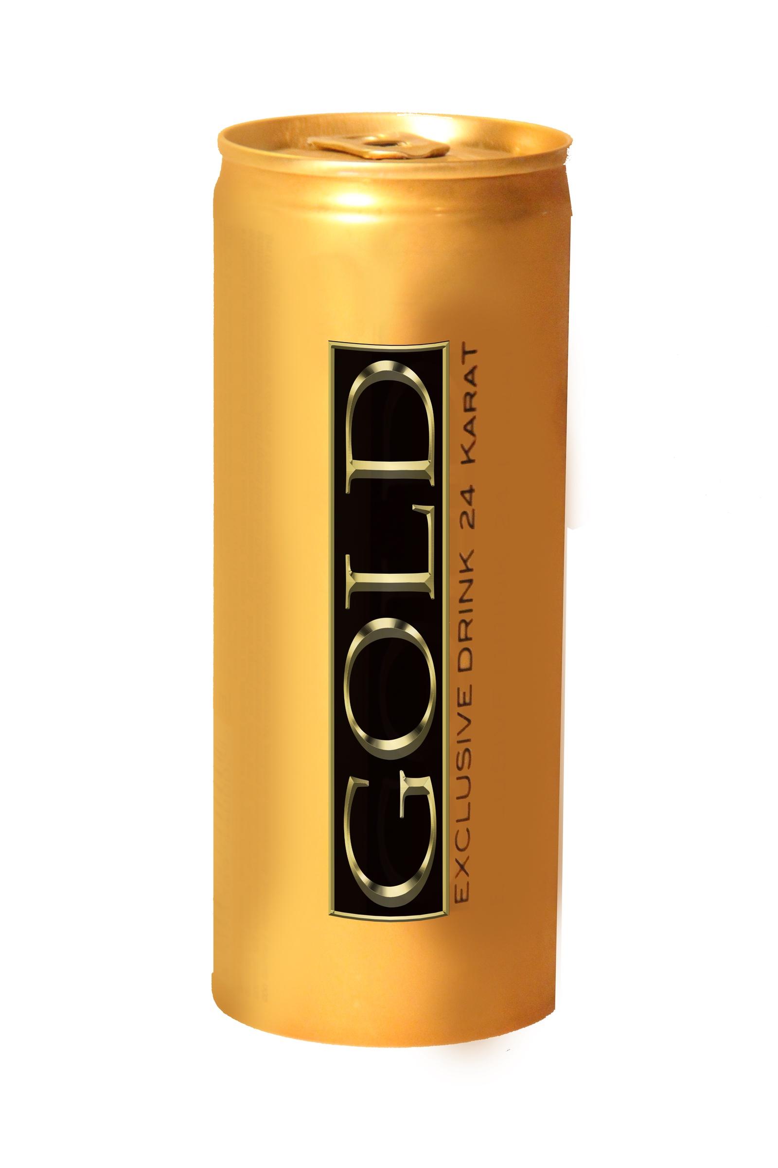 Энергетический напиток GOLD Exclusive Drink 24 Karat с золотом laq лак для ногтей 24 карата чистого золота 24 carat solid gold 15 мл 4 оттенка 10187 24 carat solid gold 24 карата чистого золота 15 мл
