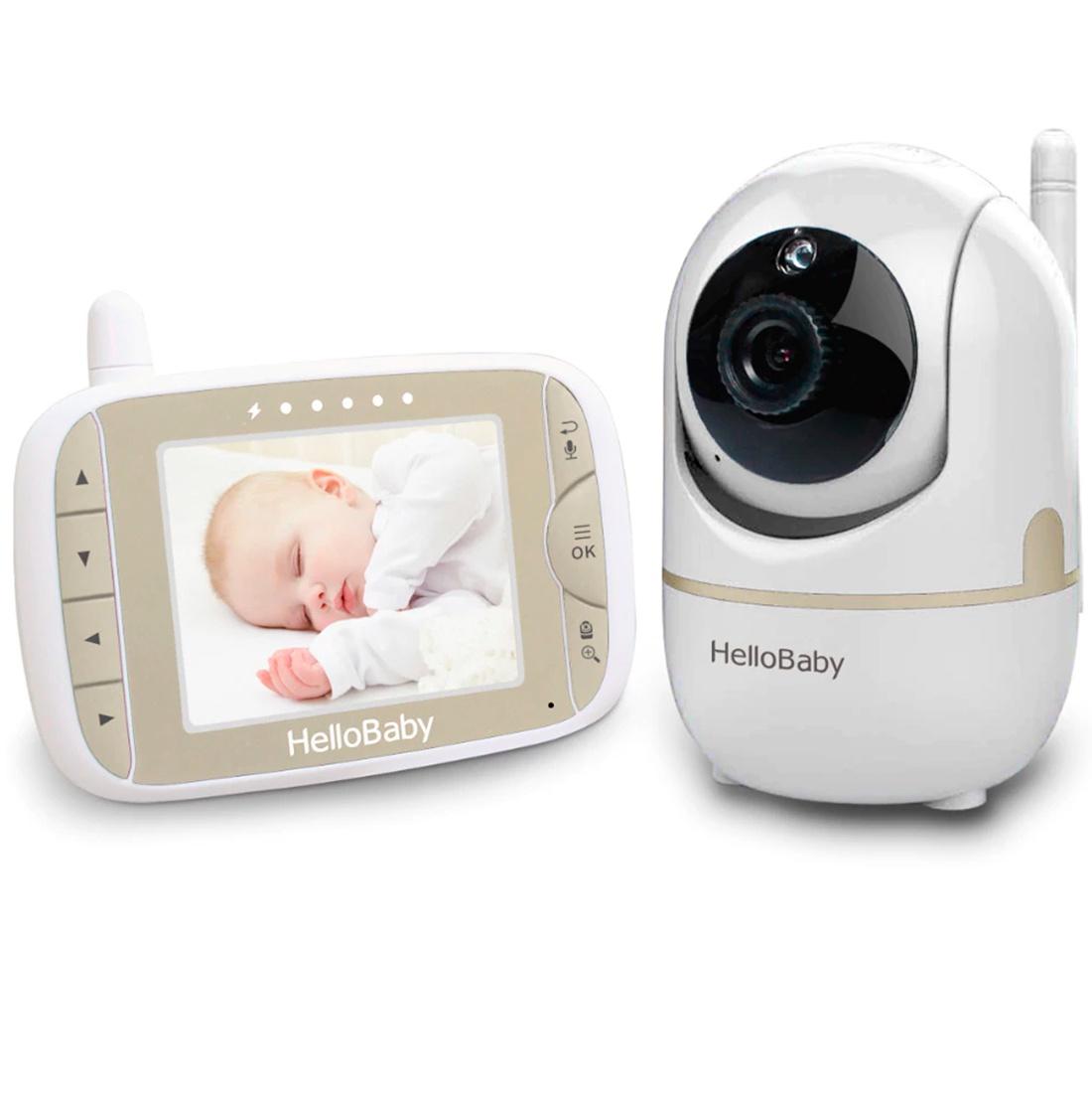 видеоняни Видеоняня Hello Baby HB65 серебристый