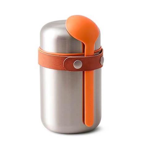 Термос Black Blum 0.4L Food Flask Orange, Нержавеющая сталь