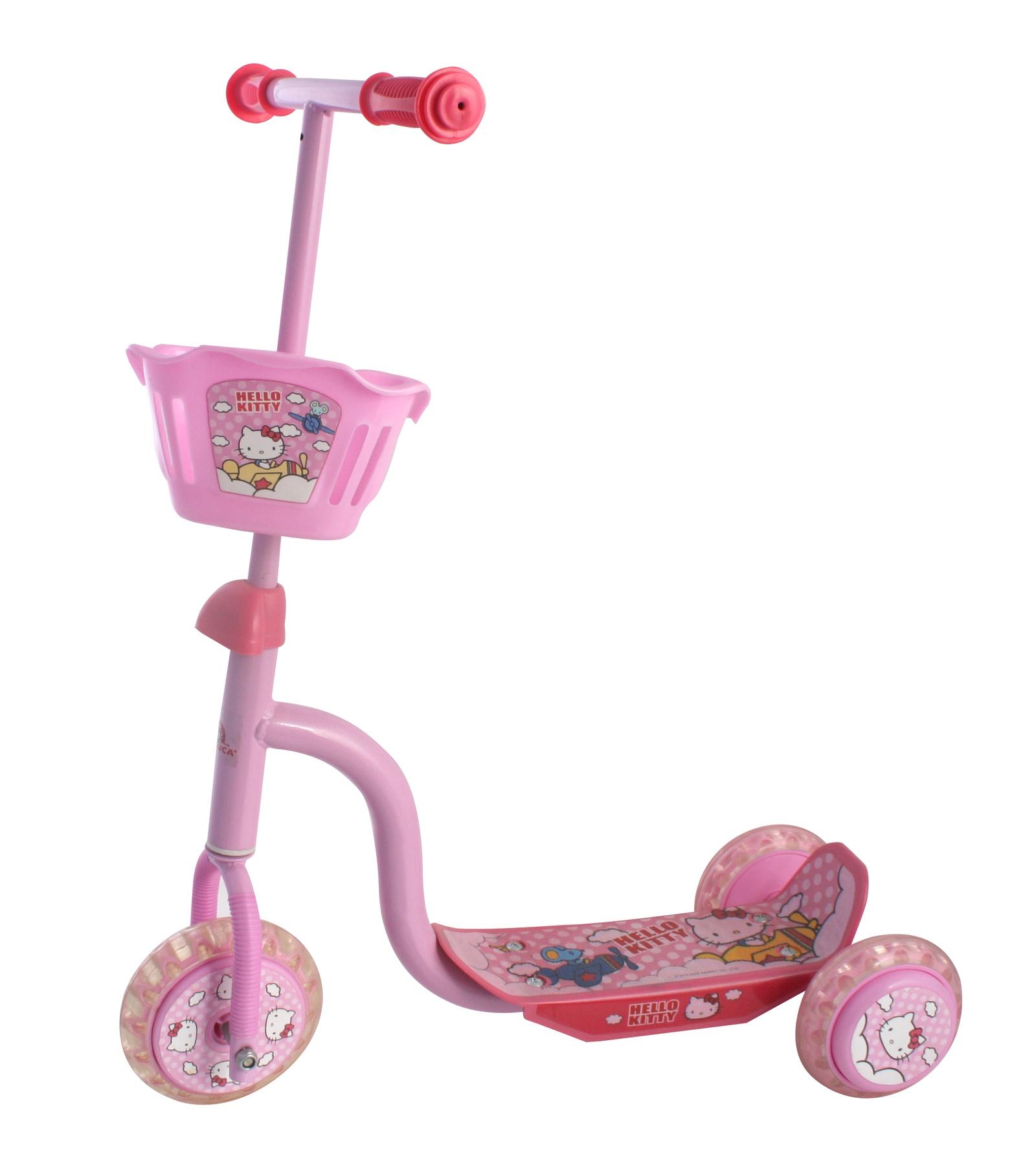 Самокат Hello Kitty детский HC1003-KC, розовый детский поильник hello kitty ktxg01 hellokitty