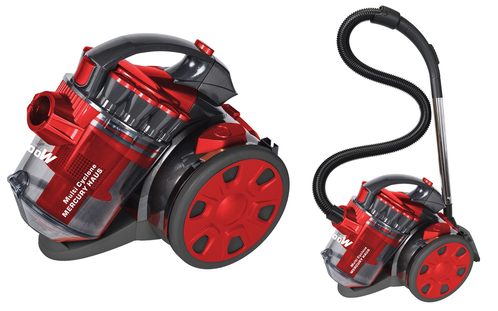 Бытовой пылесос Mercury Haus MC - 6695, красный