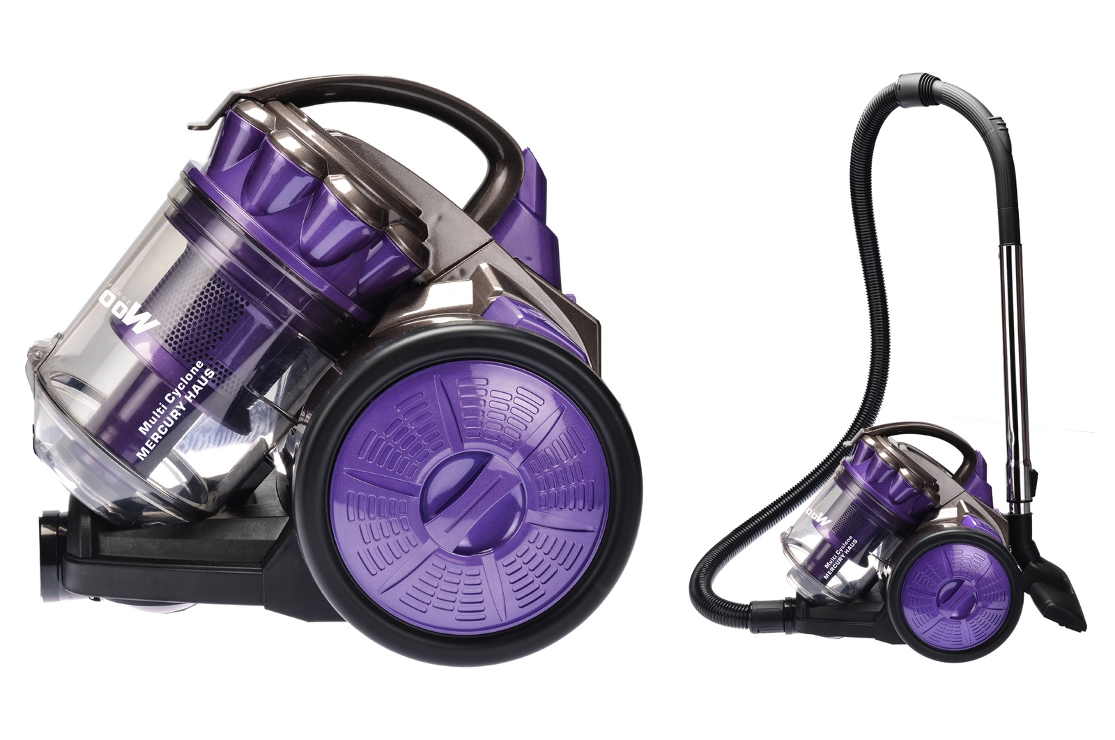 Бытовой пылесос Mercury Haus MC - 6696, фиолетовый
