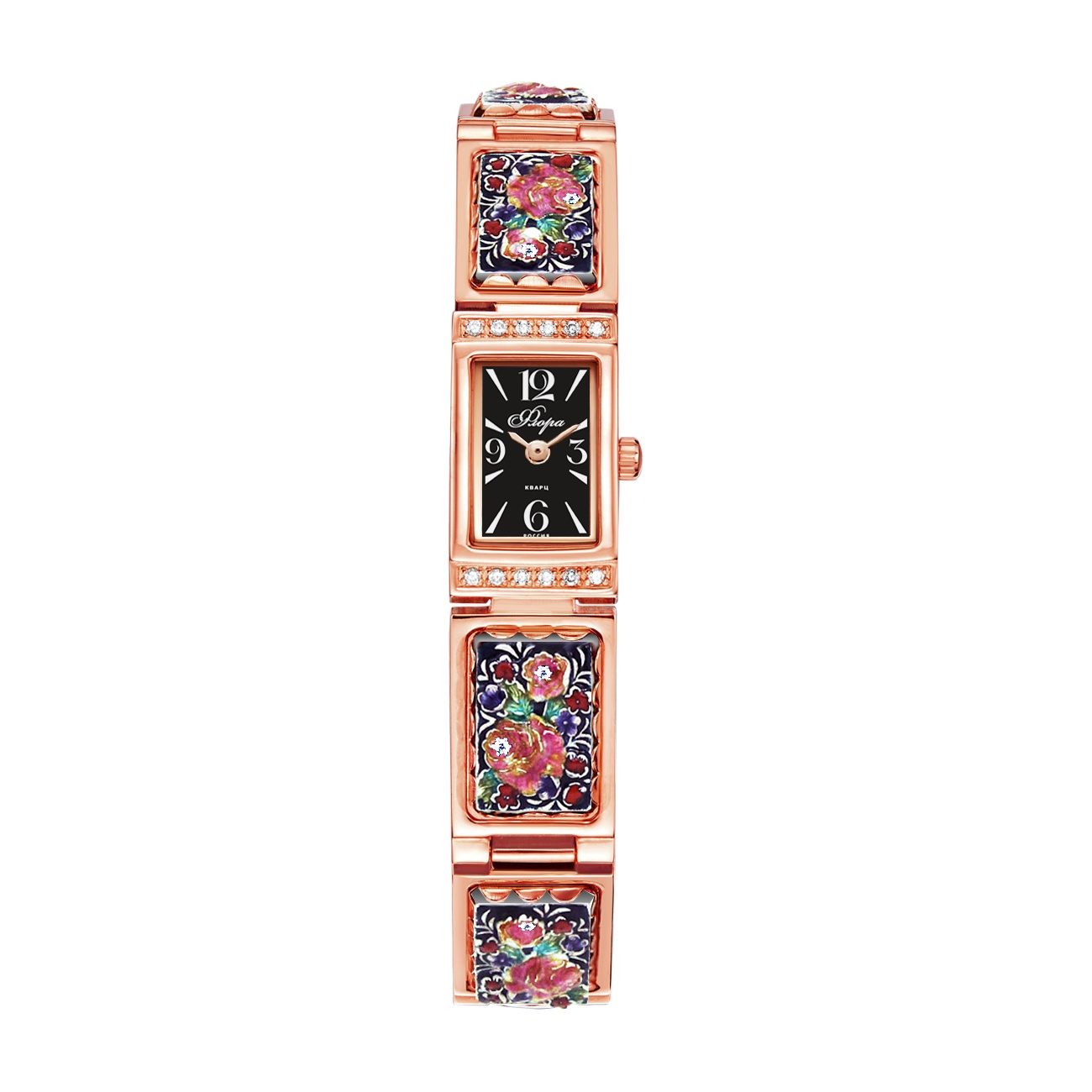 Часы Mikhail Moskvin 1141S5-B8B3 Борислава-2 будильник кварцевый mikhail moskvin цвет синий 2815 2