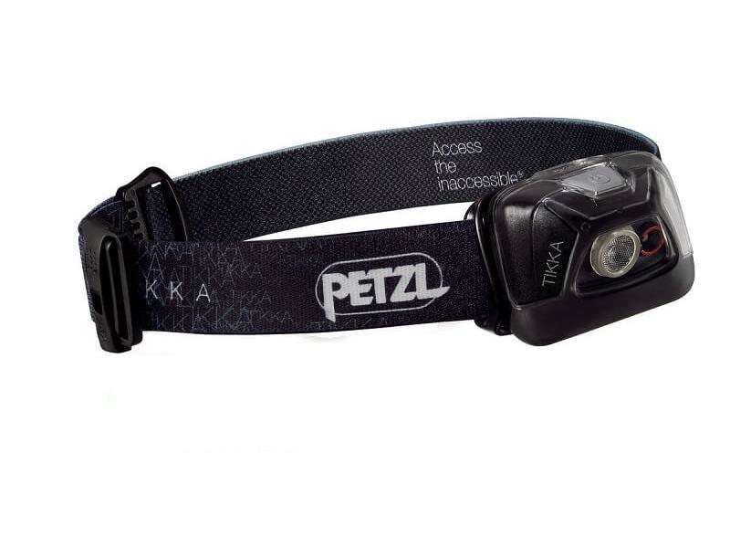 Налобный фонарь Petzl TIKKA Black, черный