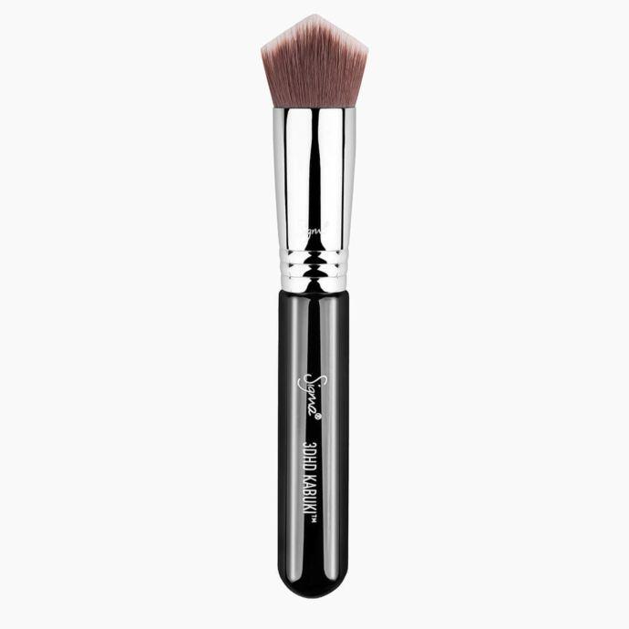 Косметическая кисть SIGMA BEAUTY Кабуки 3DHD Kabuki, Black кисть для нанесения макияжа other sigma f80