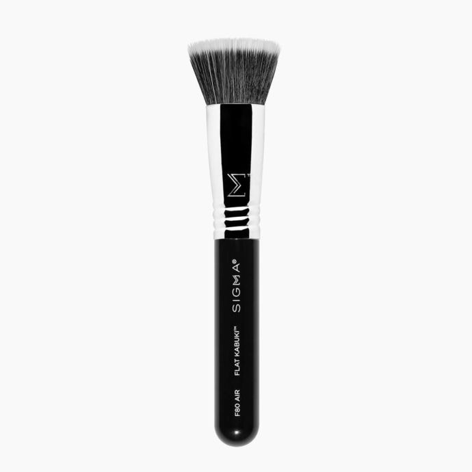 Косметическая кисть SIGMA BEAUTY Кабуки F80 Air Flat Kabuki кисть для нанесения макияжа other sigma f80