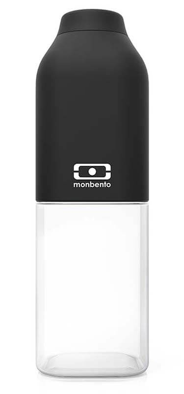 <b>Бутылка</b> для воды <b>Monbento</b> 0.5L <b>MB Positive</b> M Black, черный ...