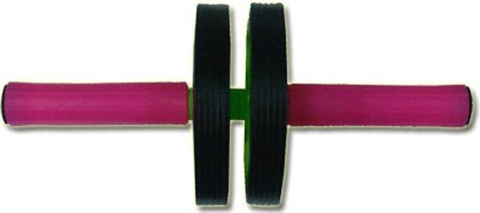 Ролик напольный гимнастический Sprinter, 07019, двойной, серый, диаметр 13 см
