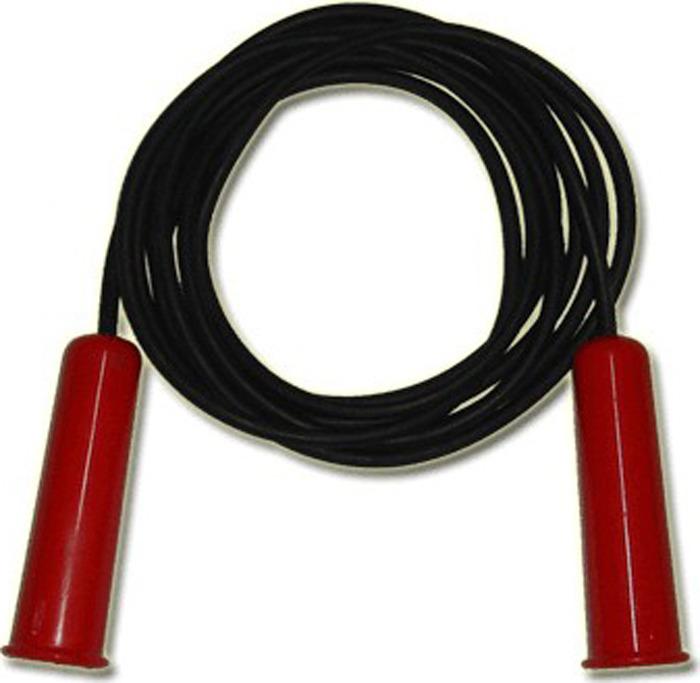 Скакалка Sprinter, 07049, черный, 1,8 м Sprinter