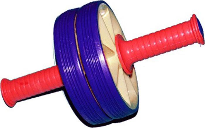 Ролик гимнастический Sprinter, 07094, двойной, серый Sprinter