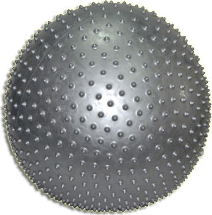 купить Мяч для фитнеса Sprinter, 07121, с массажными шипами, серый, 60 см по цене 1281 рублей