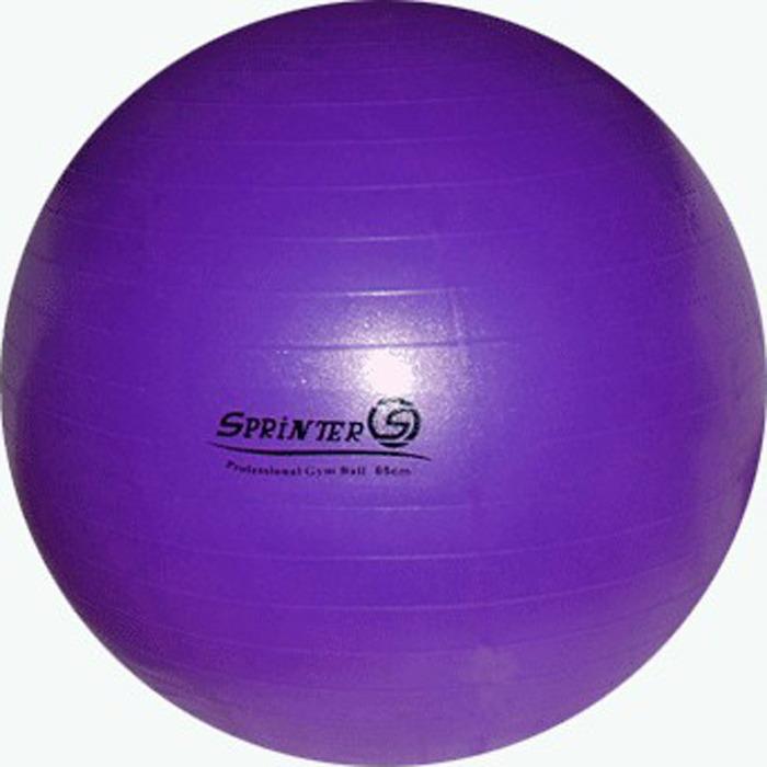 Мяч для фитнеса Sprinter Anti-Burst Gym Ball, 07394, фиолетовый, 65 см цены