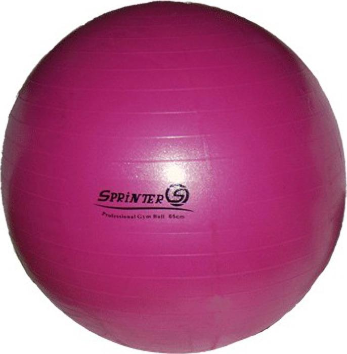 Мяч для фитнеса Sprinter Anti-Burst Gym Ball, 07396, розовый, 85 см цены