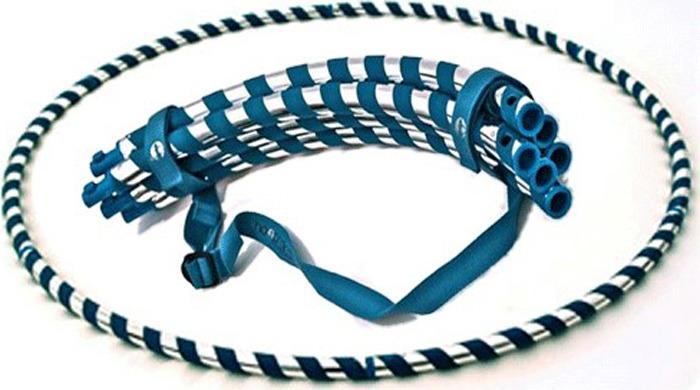 Обруч гимнастический разборный Sprinter, 07429, серый Sprinter