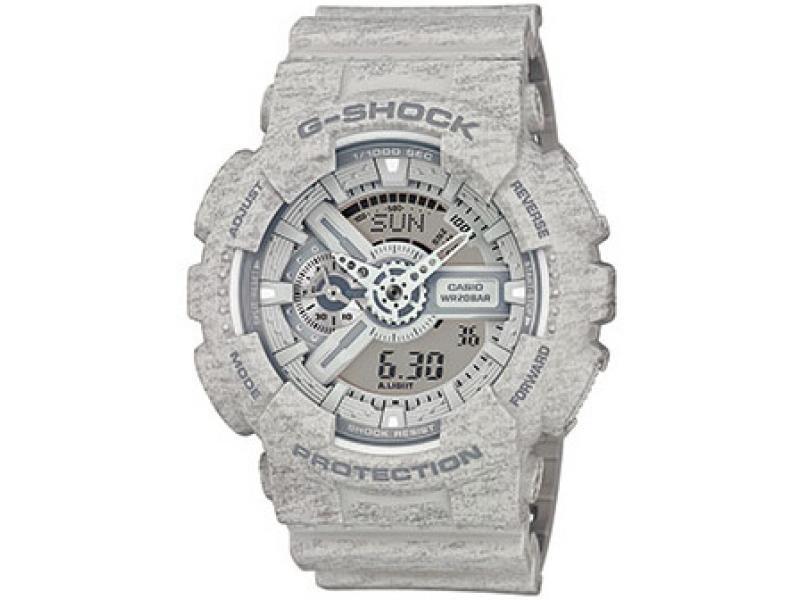 Спортивные часы Casio GA-110HT-8A, светло-серый