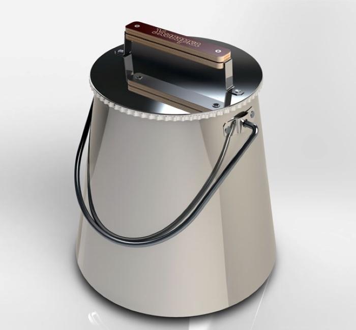 Костровая чаша Ленивый Шашлычник Уховарка шашлычник, Нержавеющая сталь
