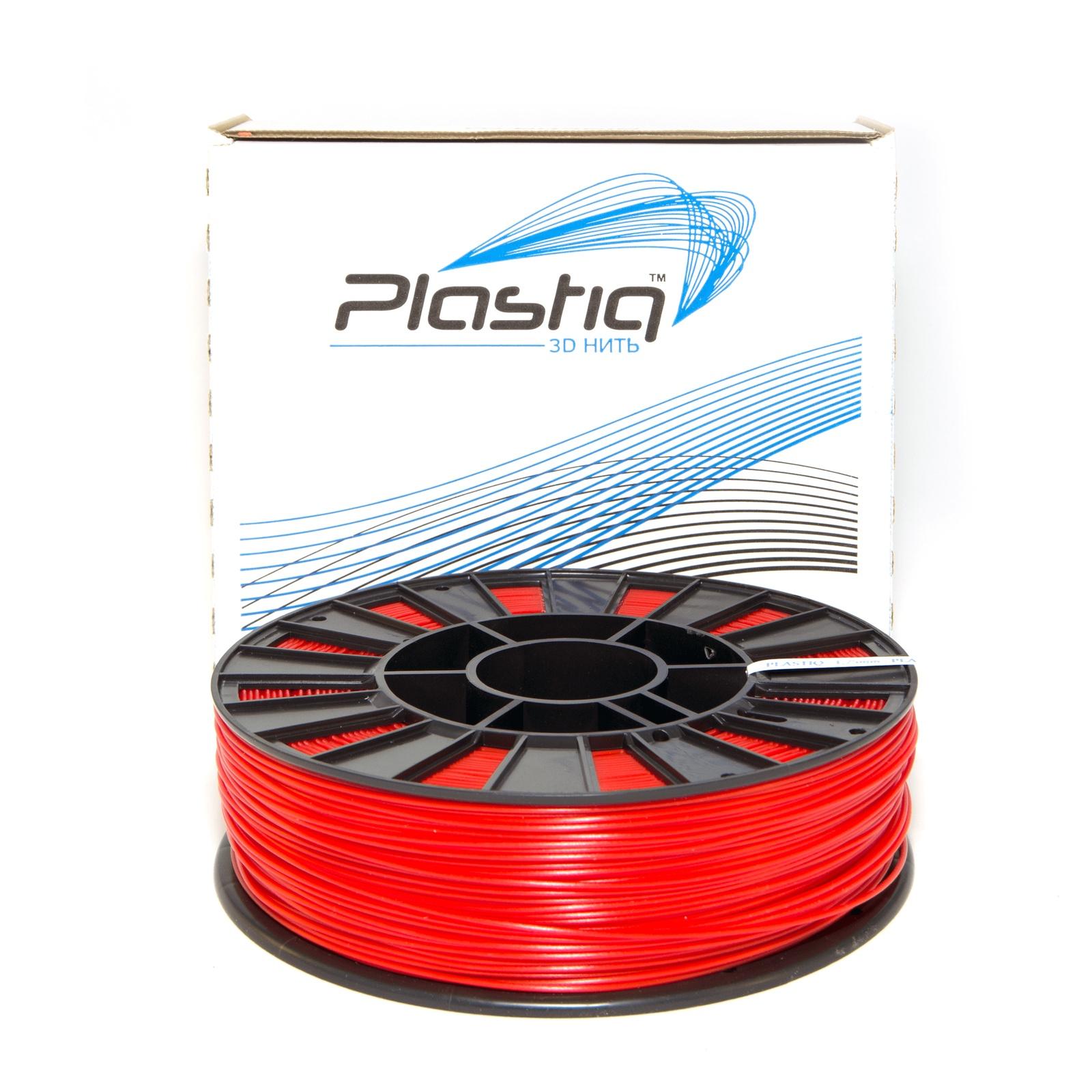 Пластик для 3D принтера Plastiq pqP900red, красный