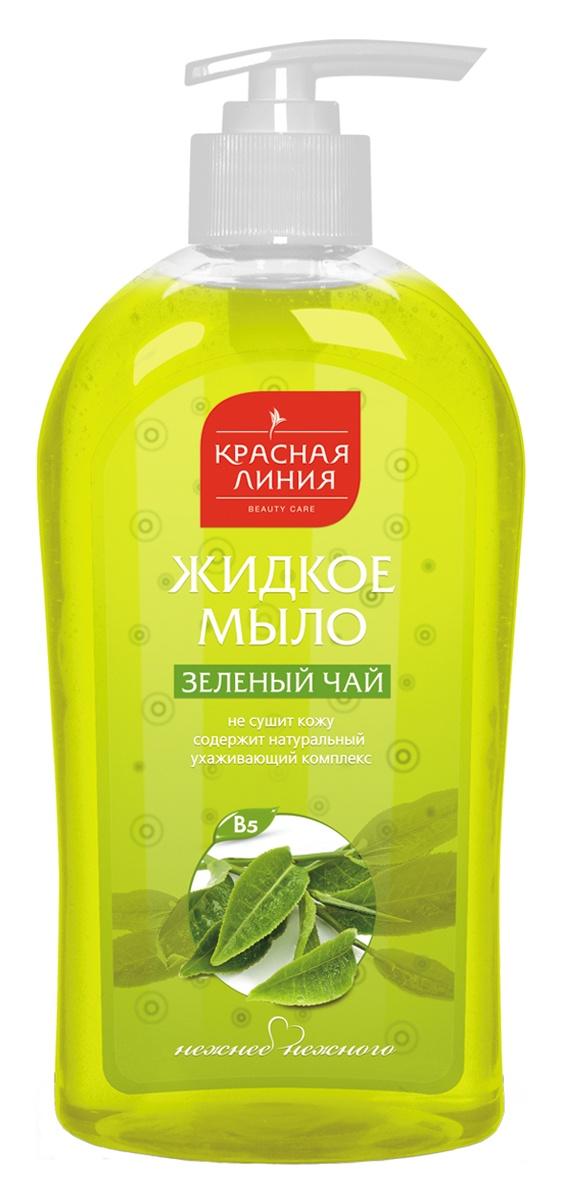 Фото - Жидкое мыло Красная Линия Мыло жидкое ЗЕЛЕНЫЙ ЧАЙ жидкое мыло iprovenziali зеленый чай