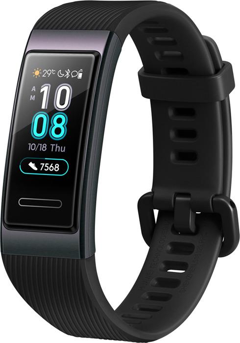 Фитнес-браслет Huawei Band 3, черный фитнес браслет huawei band 3 pro черный