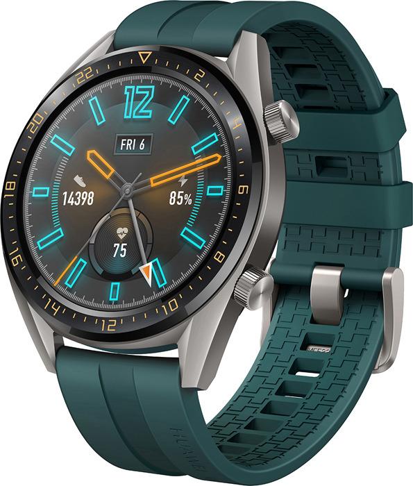 Умные часы Huawei Watch GT, темно-зеленый умные часы mijia quartz watch white