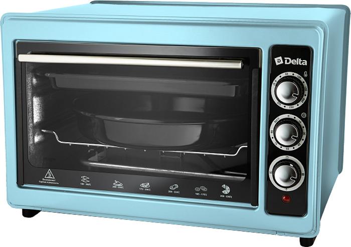 все цены на Мини-печь Delta D-023, голубой онлайн
