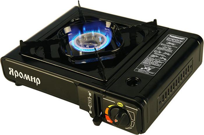 Настольная плита Яромир Яр-3002, черный