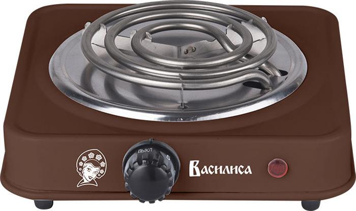 Кухонная плита Василиса ВА-901, коричневый цена и фото