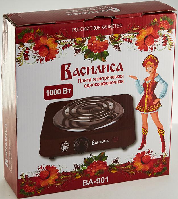 Кухонная плита Василиса ВА-901, коричневый Василиса